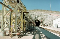 The North Portal  -- Yucca Mountain