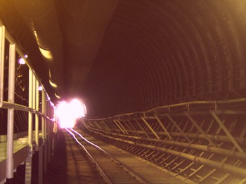 Inside Yucca Mountain -- Click to Enlarge